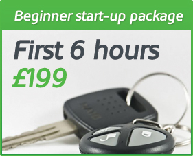 Beginner start up driving lesson package